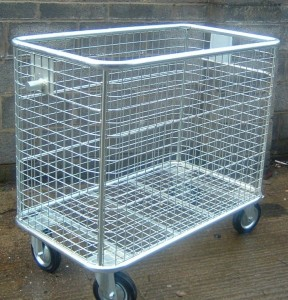 Recycling trolley