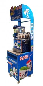 Slush Puppie Display Stand Table